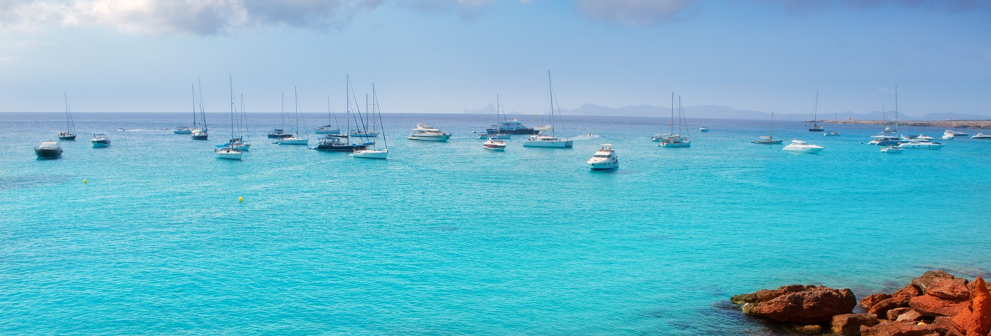 Formentera Spain - Private jet charter and superjet charter broker mlkjets destinations