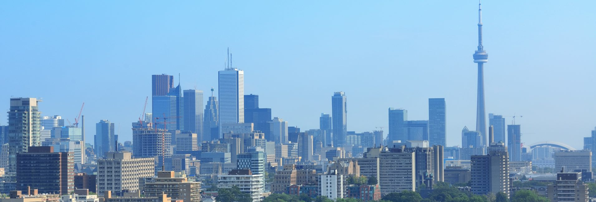 Toronto Canada - Private jet charter and superjet charter broker mlkjets destinations