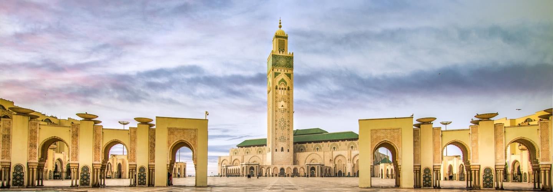 casablanca morocco hassan ii mosque destination jet charter superjet broker luxury jet hire jets charter mlkjets - Private jet charter and superjet charter broker mlkjets destinations