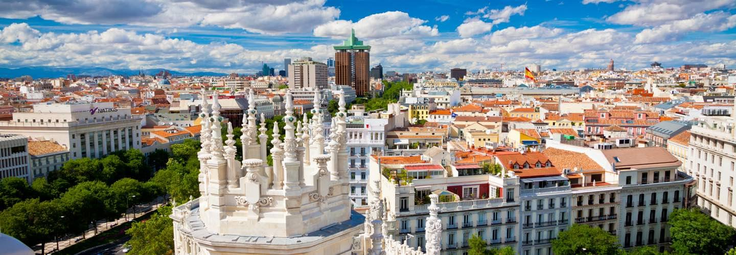 MADRID PRIVATE CHARTER JET AIR CHARTER
