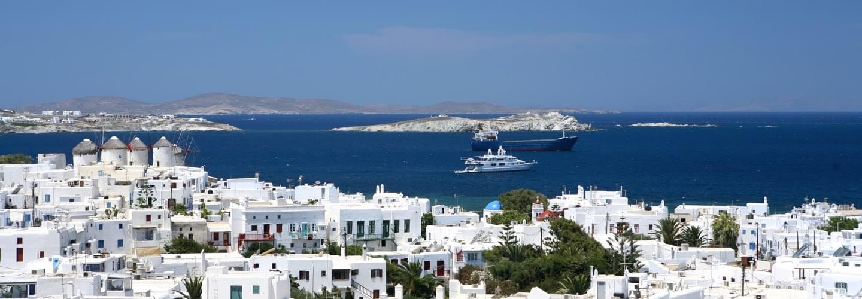 mykonos private jet charter - Private jet charter and superjet charter broker mlkjets destinations