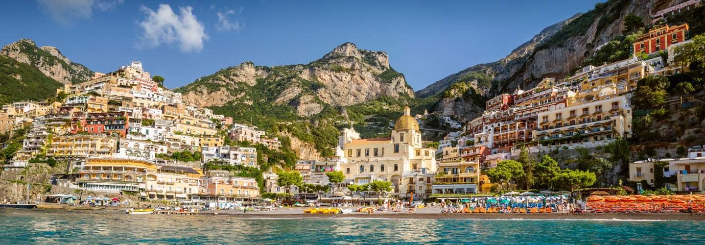 positano amalfi coast destination banner - Private jet charter and superjet charter broker mlkjets destinations